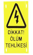 Pro-On-E - Ölüm Tehlike Levhası Metal Delikli ve Kabartmalı