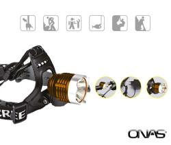 Onas - Onas NS-1040 Şarjlı 10W Ledli Kafa Lambası