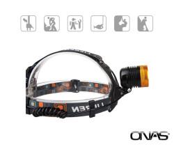 Onas - Onas NS-1050 Şarjlı 10W Ledli Kafa Lambası