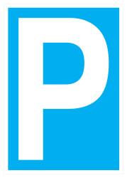 Propazar - Park Yeri İş Güvenliği Levhası - Tabelası