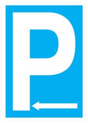 Propazar - Park Yeri Sol İş Güvenliği Levhası - Tabelası