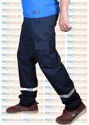Reflektörlü İş Pantolonu 16x12 Yazlık