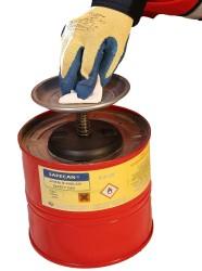 Safecan - SAFECAN Paslanmaz Çelik Banma Kabı