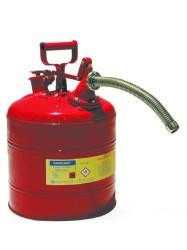 Safecan - SAFECAN Tip2 Bükülebilir Metal Hortumlu Taşıma ve Saklama Kabı Paslanmaz Çelik
