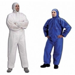 Lakeland - Safegard GP Kimyasal Koruyucu Tulum Beyaz Renk Tip 5-6