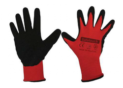 Safetouch - Safetouch LT01 Latex Polyester Eldiven