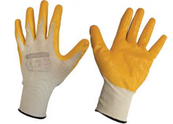 Safetouch - Safetuoch NT01 Nitril Polyester Eldiven
