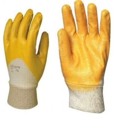 Sarı Nitril İş Eldiveni