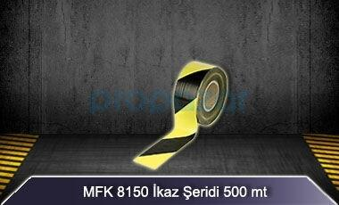 Sarı Siyah İkaz Şeridi 500 mt MFK8150