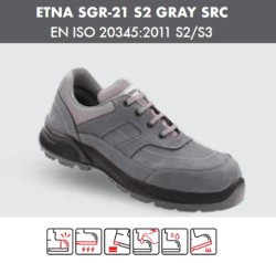 Segura - Segura Etna Sgr-21 S2 Gray Src İş Ayakkabısı