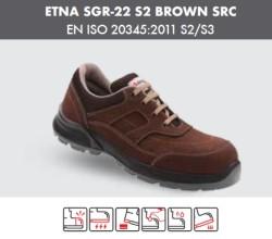Segura - Segura Etna Sgr-22 S2 Kahve İş Ayakkabısı