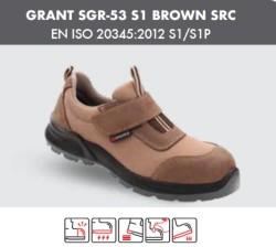 Segura - Segura Grant SGR-53 S1 Kahverengi İş Ayakkabısı