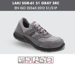 Segura - Segura Laki SGR-61 S1 Gri İş Ayakkabısı