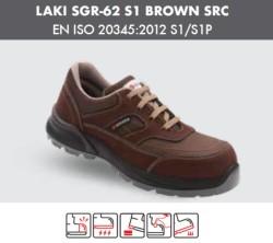 Segura - Segura Laki SGR-62 S1 Kahverengi İş Ayakkabısı
