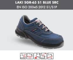 Segura - Segura Laki SGR-63 S1 Mavi İş Ayakkabısı