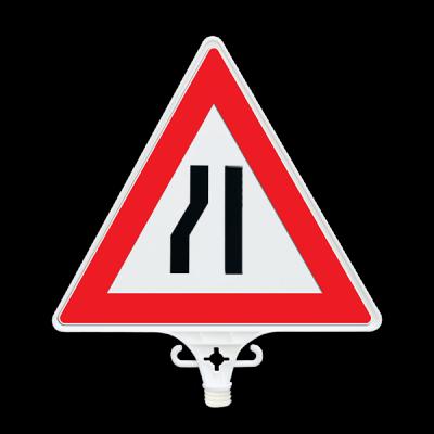 Soldan Daralan Yol Uyarı Levhası UT 2803