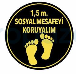 Propazar - Sosyal Mesafeni Koru Yapıştırma Sticker