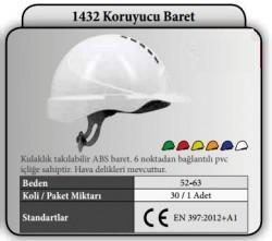 Starline - Starline 1432 AL Koruyucu Baret - Vidalı Otomatik