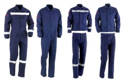 Starline - Starline BTS G0101R Reflektörlü Alev Almaz Takım İş Kıyafeti
