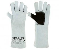 Starline - Starline E-170418C-GR Kaynak İş Eldiveni