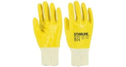 Starline - Starline E-206-Y Sarı Nitril İş Eldiveni