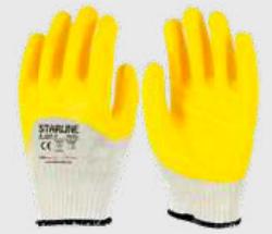 Starline - Starline E-207-Y Sarı Nitril İş Eldiveni