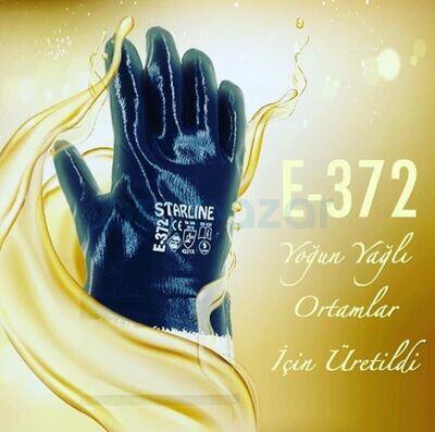Starline E-372 Nitril Petrolcü Tip İş Eldiveni