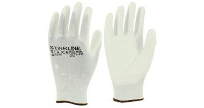 Starline E-49 Beyaz PU Eldiven