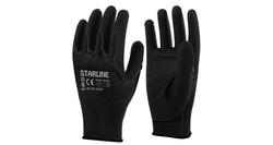 Starline - Starline E-49 Siyah PU Eldiven