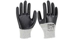 Starline - Starline E-65 Kesilme Dirençli İş Eldiveni 3/4 Nitril Kaplı