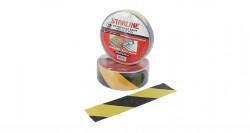 Starline - Starline Kaydırmaz Bant Sarı - Siyah 25mm 15 Metre