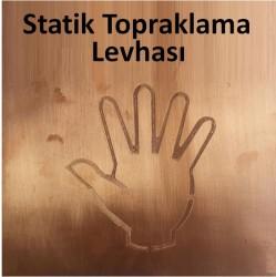 Propazar - Statik Topraklama Levhası Seti