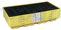 FyrPro - Sysbel SPP101 İki Varil Plastik Sızıntı - Döküntü Paleti