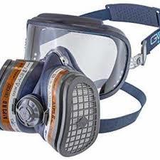 GVS Elipse - Tam Yüz Gözlüklü Amonyak Maskesi
