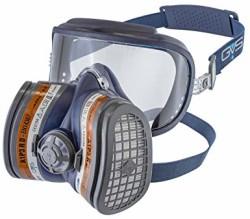 GVS Elipse - Tam Yüz Gözlüklü Sülfürik Asit Maskesi ve Filtresi