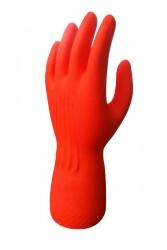 Toptan Kırmızı Bulaşık Eldiveni - Beybi Premium (200çift) - Thumbnail
