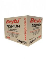 Beybi - Toptan Kırmızı Bulaşık Eldiveni - Beybi Premium (200çift)