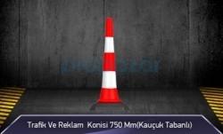 MFK - Trafik ve Reklam Konisi 750 mm ( Kauçuk Tabanlı )