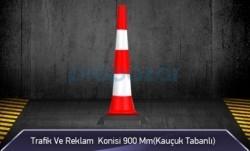 MFK - Trafik ve Reklam Konisi 900 mm ( Kauçuk Tabanlı )
