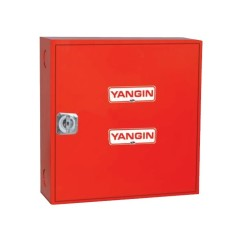 UNI-BOX - UNİ-BOX UB-12 Saç Kapak Yangın Dolabı