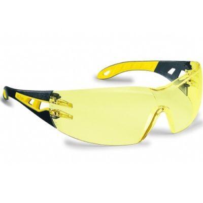 Uvex Pheos 9192 385 Sarı Lens Güvenlik Gözlüğü