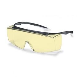 Uvex - Uvex Super F OTG Gözlük Üstü Ziyaretçi Misafir Gözlüğü - Sarı - 9169580