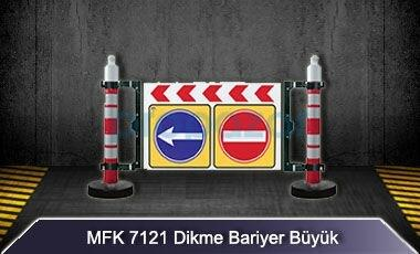 Uyarı Levhalı Dikme Bariyer Büyük MFK7121