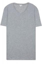 Propazar - V Yaka Gri T-shirt