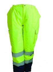 Vizwell - Vizwell VWJK187 300 D Oxford İçi Kapitoneli Reflektörlü İki Renkli Pantolon