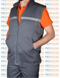 Propazar - Yazlık Gri Yelek - İş Yeleği - FSYYHCP04