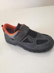 Yılmaz - Yılmaz YL 734 Gri Turuncu Astarlı Ayakkabı