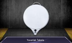 Yuvarlak Duba Üzeri Tabela MFK9100 - Thumbnail